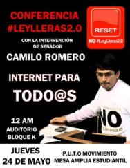 Conferencia Ley Lleras 2.0