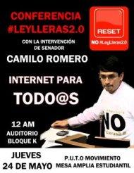 Conferencia Ley LLeras2.0